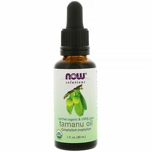 NOW Solutions Certified Organic & 100% Pure Tamanu Oil