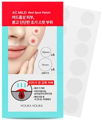 Holika Holika Ac Mild Red Spot Patches