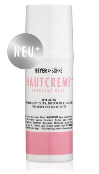 Beyer&Söhne Hautcreme+ Trockene Haut