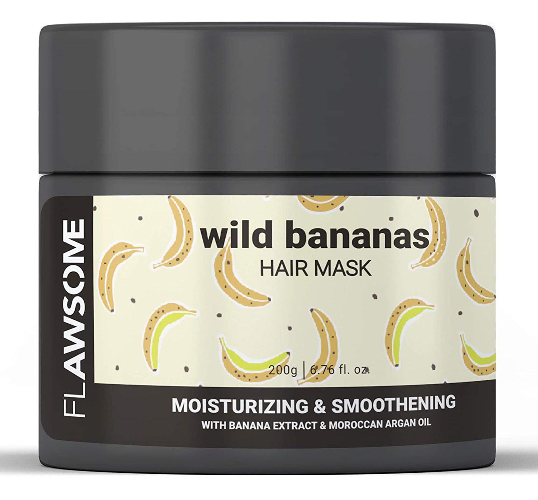 Flawsome Wild Bananas Moisturizing & Smoothening Hair Mask