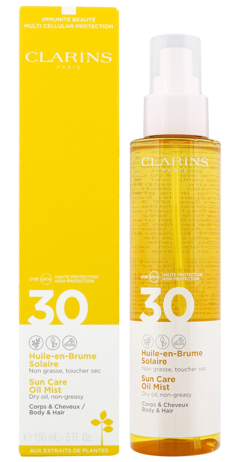 Clarins Sun Care Body Oil Spray SPF30