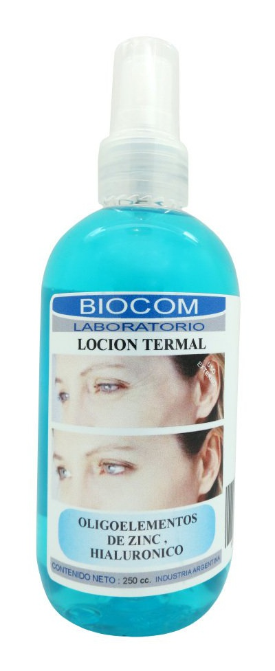 Biocom Thermal Lotion with Zinc and Hyaluronic Acid