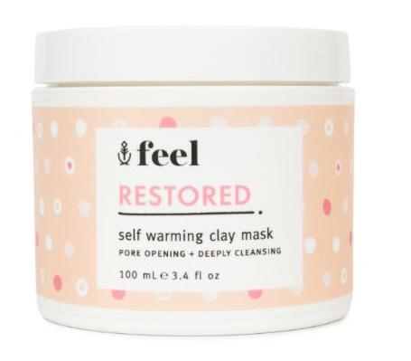 Feel Beauty Restored Self Warming Clay Mask