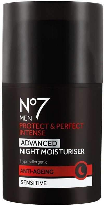 No7 Men Protect & Perfect Intense Advanced Night Moisturiser