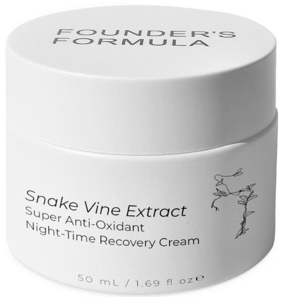 Founder's Formula Australian Snake Vine Extract Super Anti-oxidant Night-time Recovery Cream