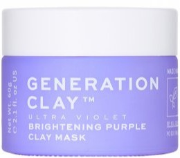 Generation Clay Ultraviolet Brightening Purple Mask