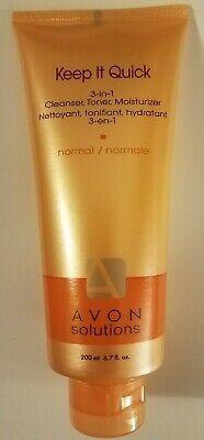 Avon Keep It Quick 3 In 1 Cleanser, Toner, Moisturizer