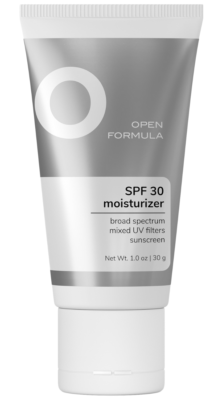Open Formula Spf 30 Moisturizer (Mixed UV filters)