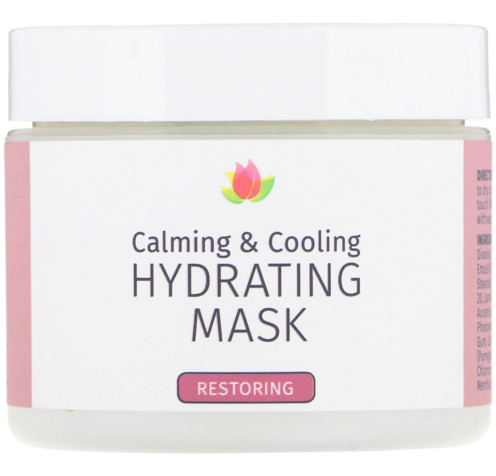 Reviva Labs Calming & Cooling, Hydrating Mask