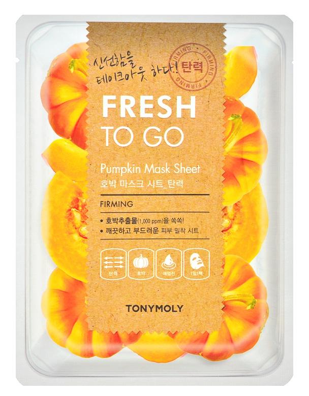 TonyMoly Fresh To Go Pumpkin Mask Sheet