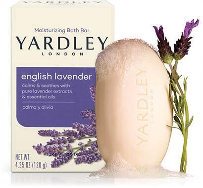 Yardley  London English Lavender Naturally Moisturizing Botanical Soap