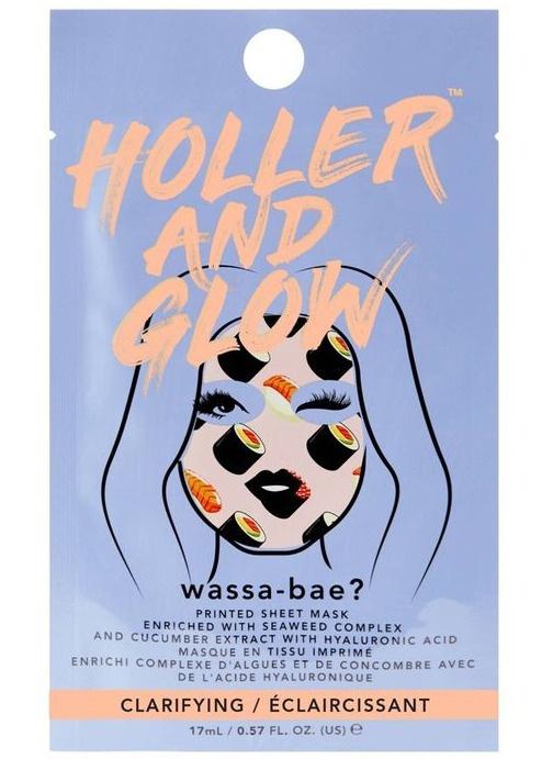 Holler and glow Wassa-bae Sheet Mask