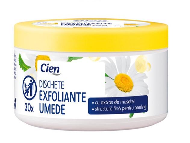 Cien Dischete Exfoliante Umede