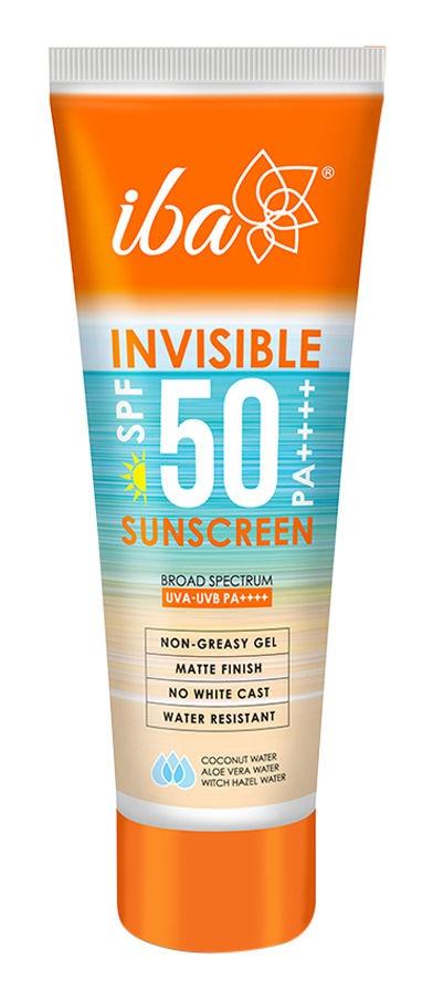 Iba halal Iba Invisible Spf 50 Pa++++ Sunscreen