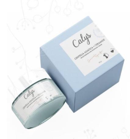 Calys Centella Asiatica + Ceramide Moisturizing And Soothing Cream