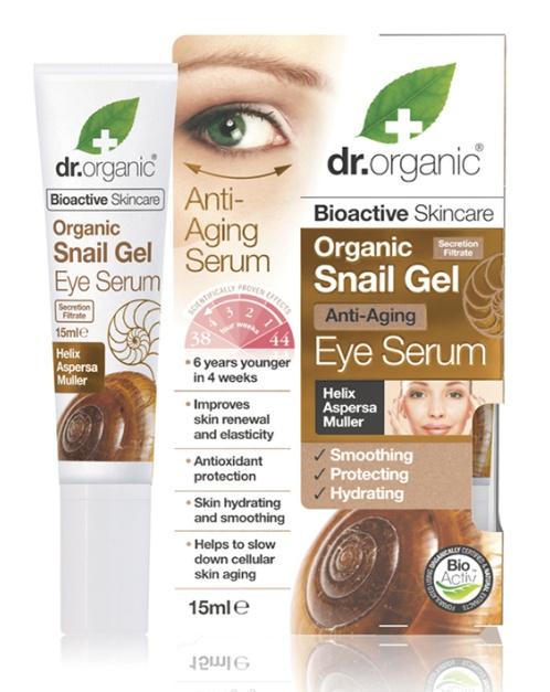 Dr Organic Snail Gel Eye Serum