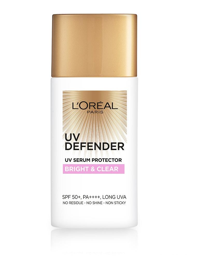 L'Oreal UV Defender Bright & Clear UV Serum Protector SPF 50+ PA++++