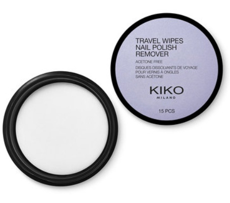 Kiko Travel Wipes Nail Polish Remover