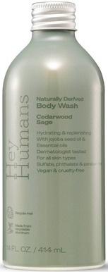 Hey Humans Body Wash Cedarwood Sage