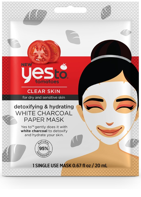 Yes To White Charcoal Paper Mask