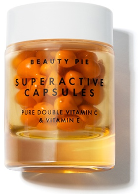 Beauty Pie Superactive Capsules Pure Double Vitamin C & Vitamin E Serum