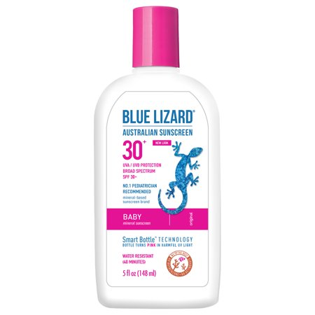 Blue Lizard Sunscreen, Baby, Broad Spectrum Spf 30+