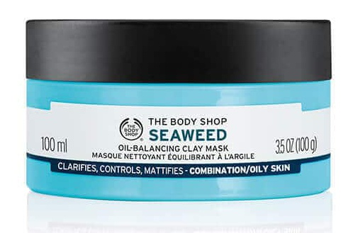 The Body Shop Seaweed Oil Balancing Clay Mask