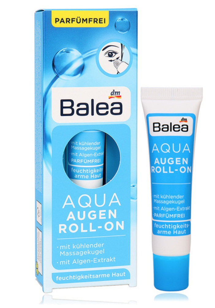 Balea Aqua Augen Roll-On Eye Creme