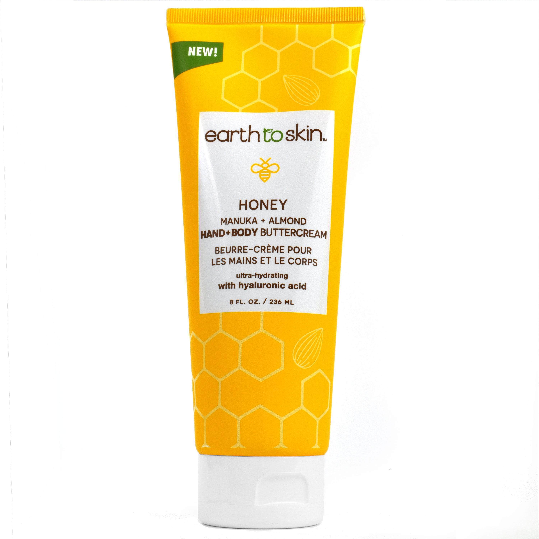 Earth To Skin Honey Manuka + Almond Hand And Body Buttercream