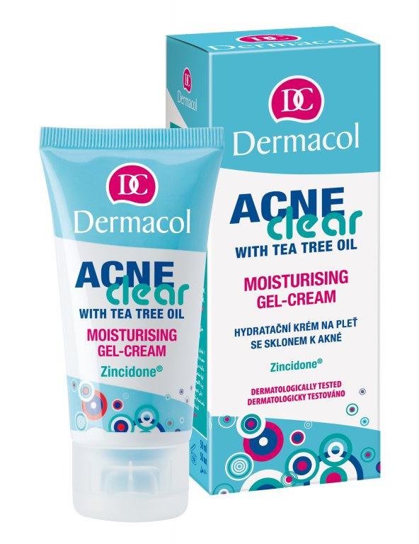 Dermacol Acne Clear Mousturizing Gel Cream