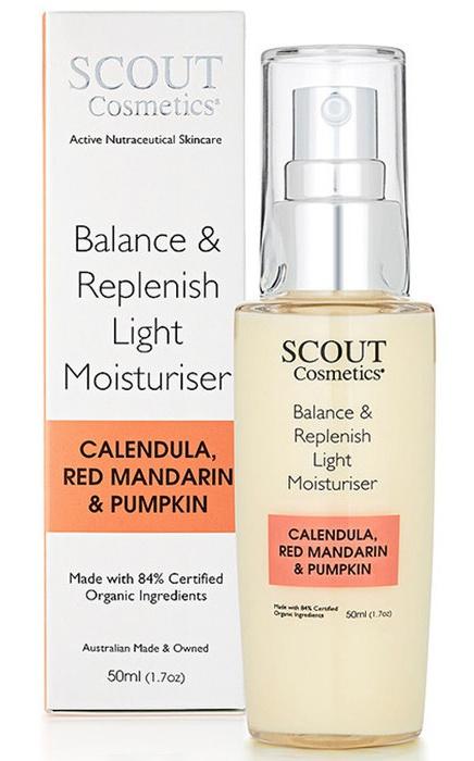SCOUT Cosmetics Balance & Replenish Light Moisturiser