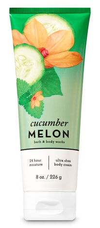 Bath and Body works Cucumber Melon Ultra Shea Body Cream