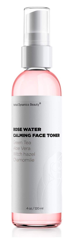 Herbal Dynamics Beauty Rose Water Calming Face Toner