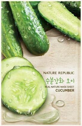 Nature Republic Real Nature Mask Sheet Cucumber