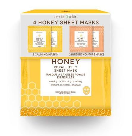 Earth To Skin Honey Manuka Sheet Mask
