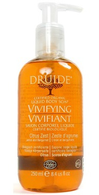 Druide Liquid Body Soap - Vivifying Citrus Zest