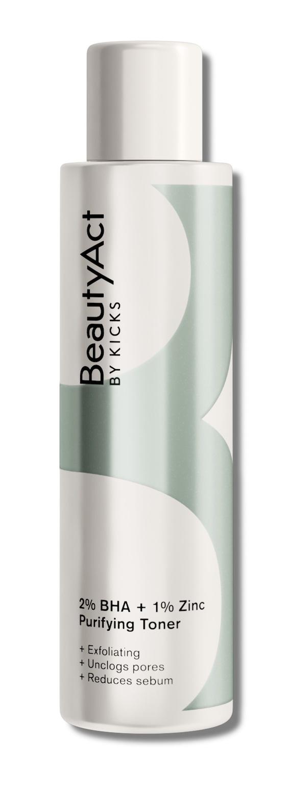 BeautyAct 2% Bha + 1% Zinc Purifying Toner