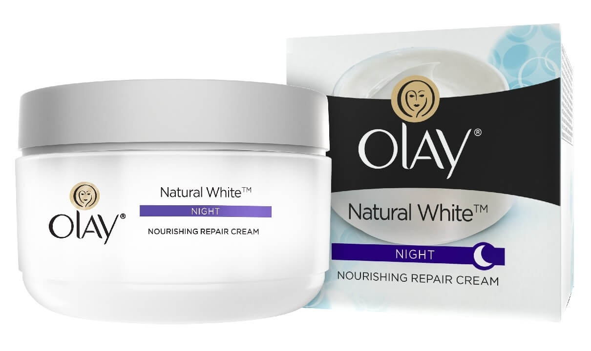 Olay Natural White All-In-One Fairness Night Cream