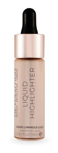 Makeup Revolution Liquid Highlighter - Bronze Gold