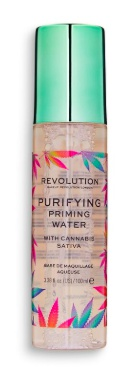 Revolution Purifying Priming Water With Cannabis Sativa