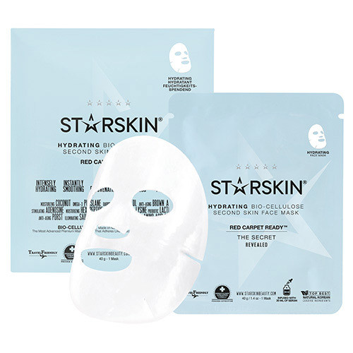 STARSKIN Red Carpet Ready Hydrating Bio Cellulose Second Skin Face Mask
