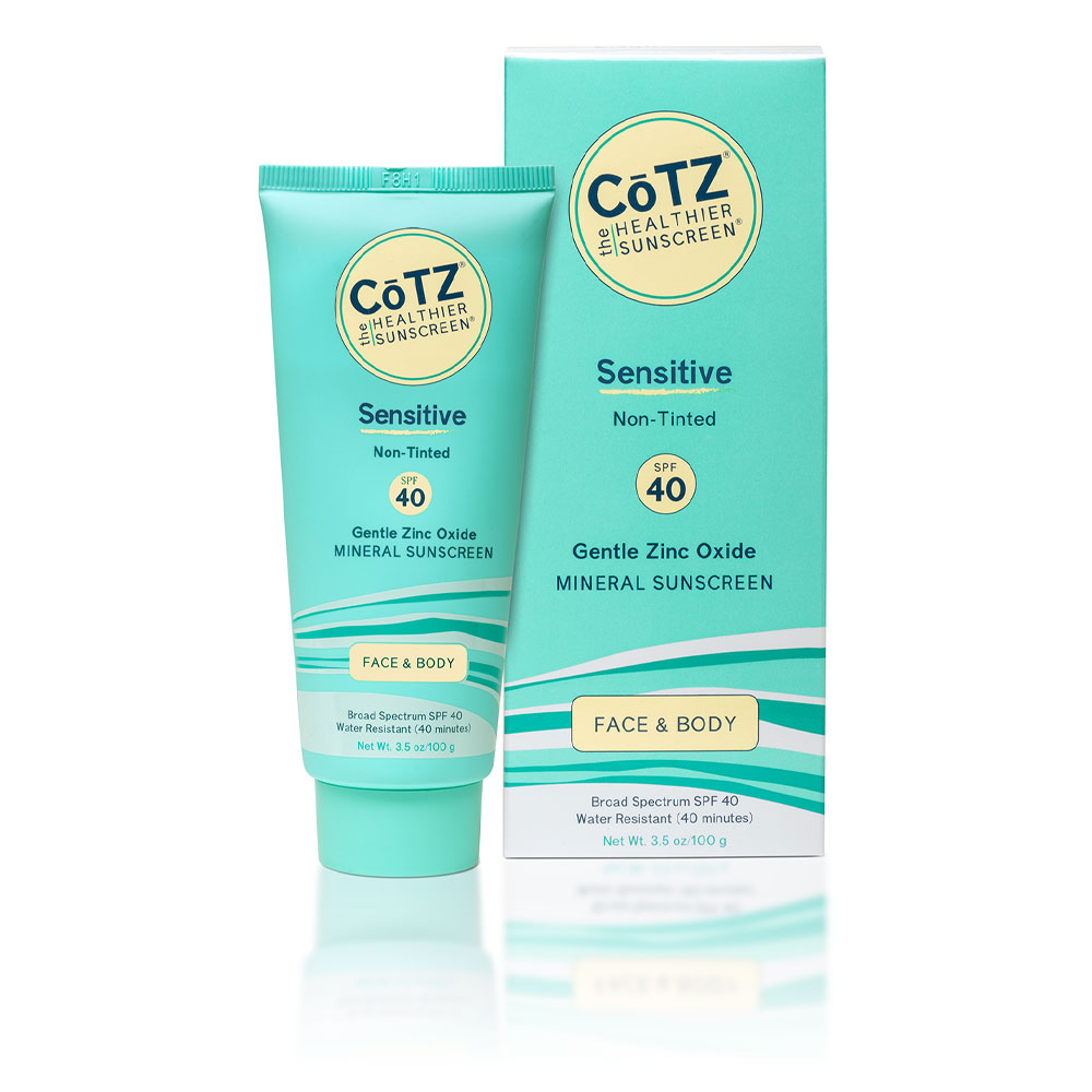 Cotz Sensitive SPF 40 Mineral Sunscreen