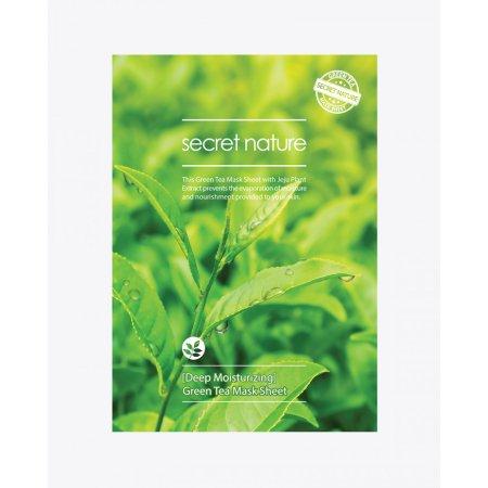 Secret Nature [Deep Moisturizing] Green Tea Mask Sheet