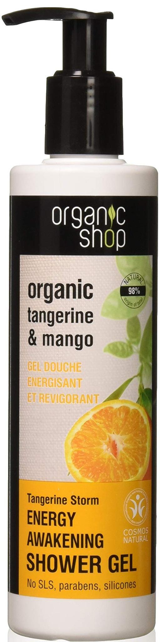 Organic Shop Tangerine Storm Energy Shower Gel