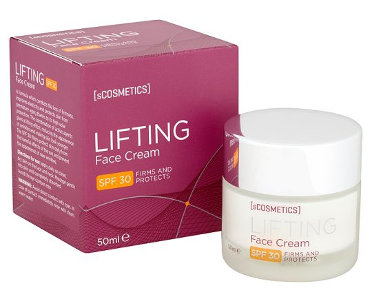 sCOSMETICS Lifting Face Cream With Spf 30