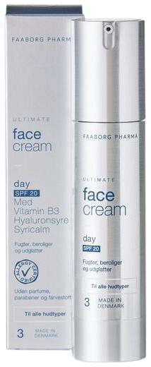 Faaborg Pharma Ultimate Face Cream – Day SPF 20