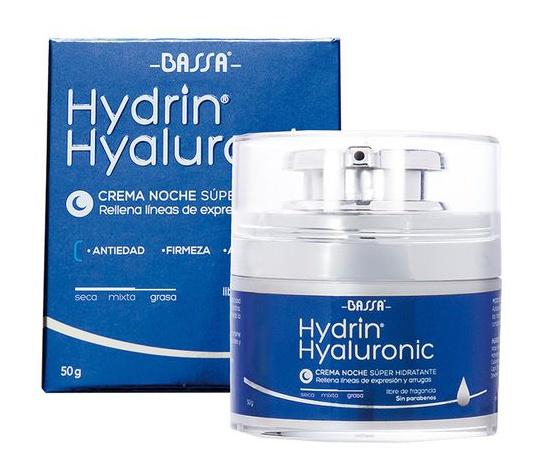 Bassa Hydrin Hyaluronic Crema Noche