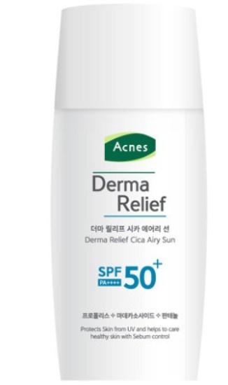 Acnes Derma Relief Cica Airy Sun Spf50+ Pa++++