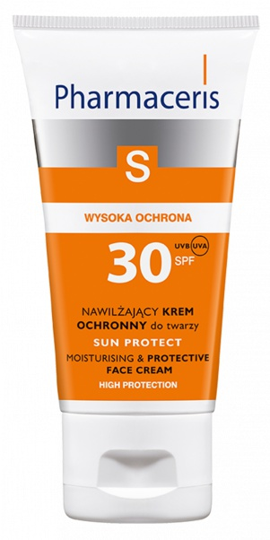Pharmaceris Sun Protect Spf 30 Hydrating Protective Face Cream