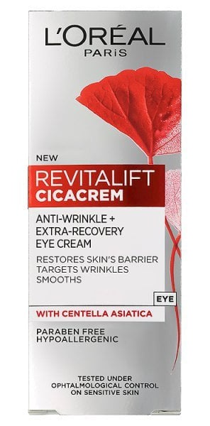 L'Oreal Revitalift Cica Anti Wrinkle Eye Cream
